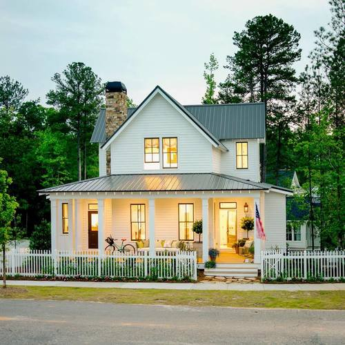 RCA Cottage Living Magazine Cover Home July /August Issue