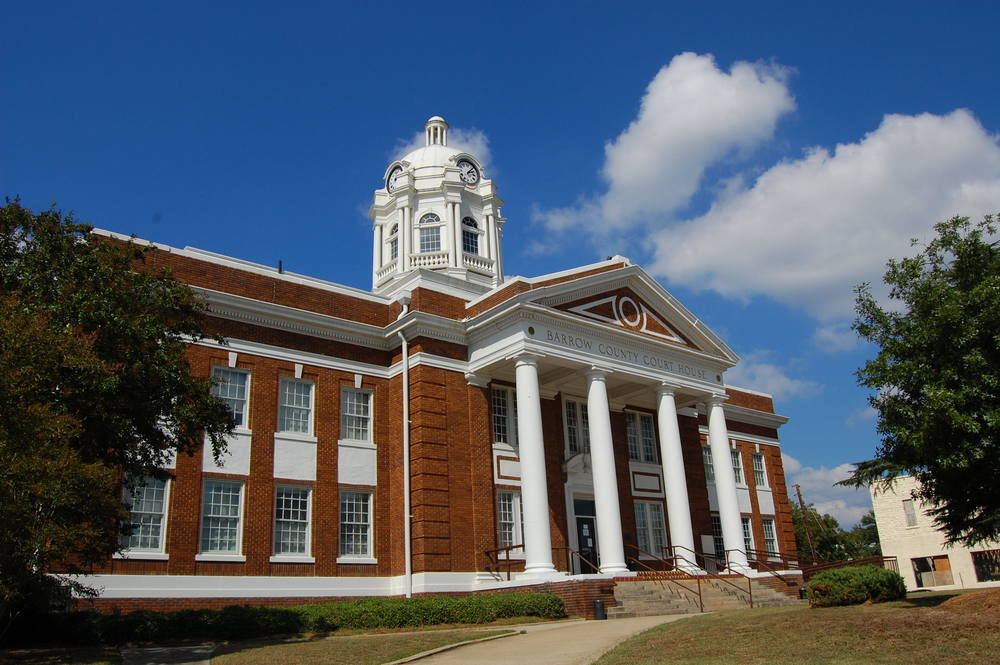 By Ashley Farrow Barrow County Courthouse