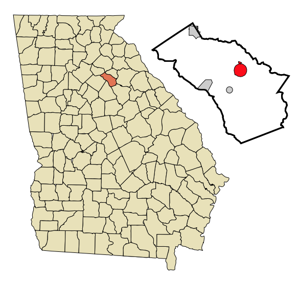 Watkinsville Georgia is located at 33°51′46″N 83°24′29″W By Arkyan