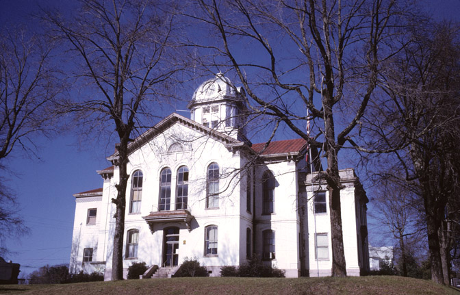 Jackson County courthouse by Calvin Beale