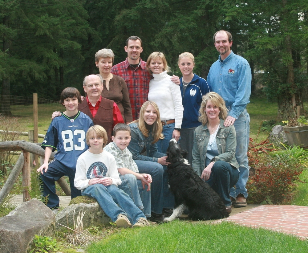 The Stringfellow Families of Keith & Scott Tree Farm