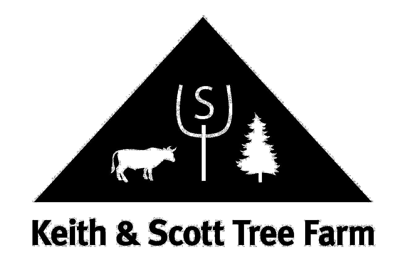 Christmas Tree Farm Logo.Keith Scott Tree Farm