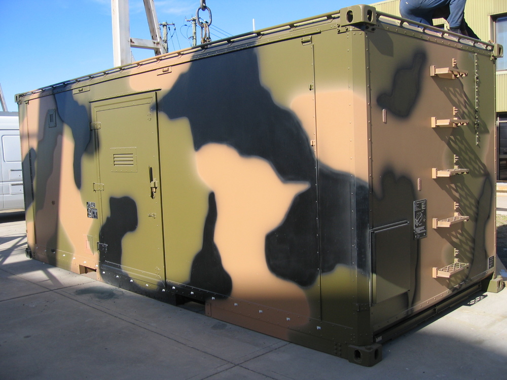 Varley shelters are designed for use as static facilities on the ground, or as mobile facilities on flatbed trucks.