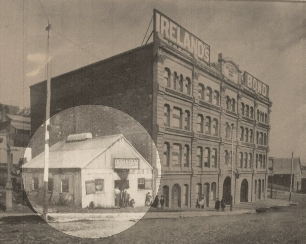 The G.H. Varley facility on King St, Newcastle at the time of incorporation in 1912.