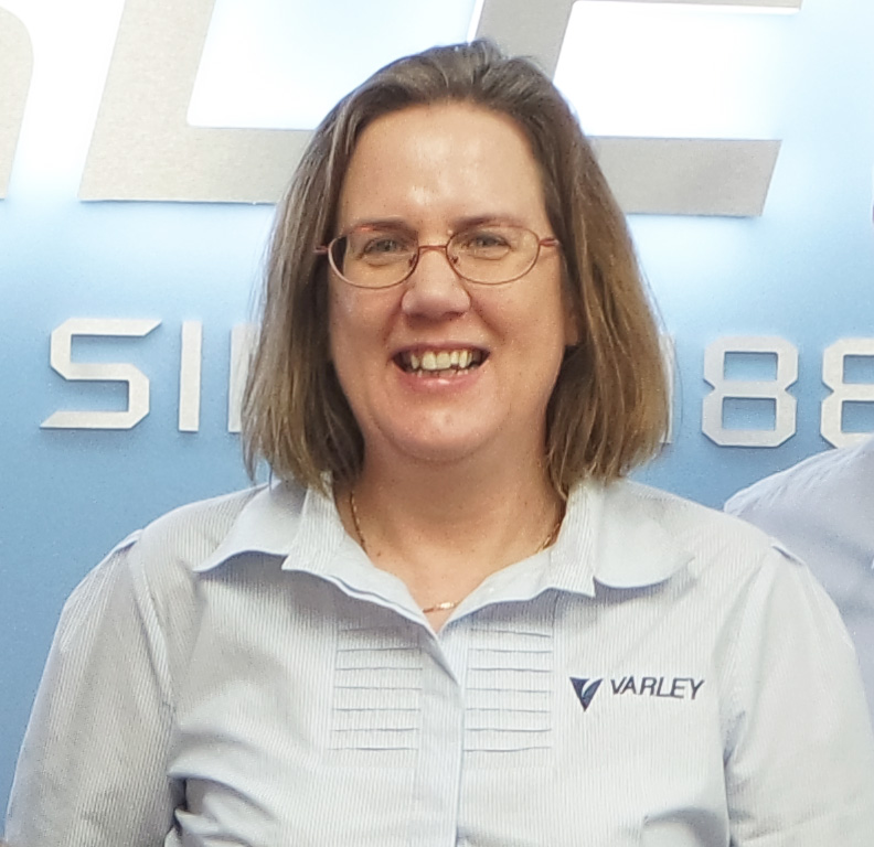 Caroline Williams - Varley's 'HunterNet Future Leader' for 2016.
