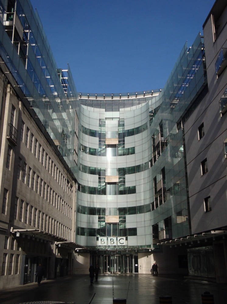BBC Broadcasting House in London. Image credit: Stuart Higgins