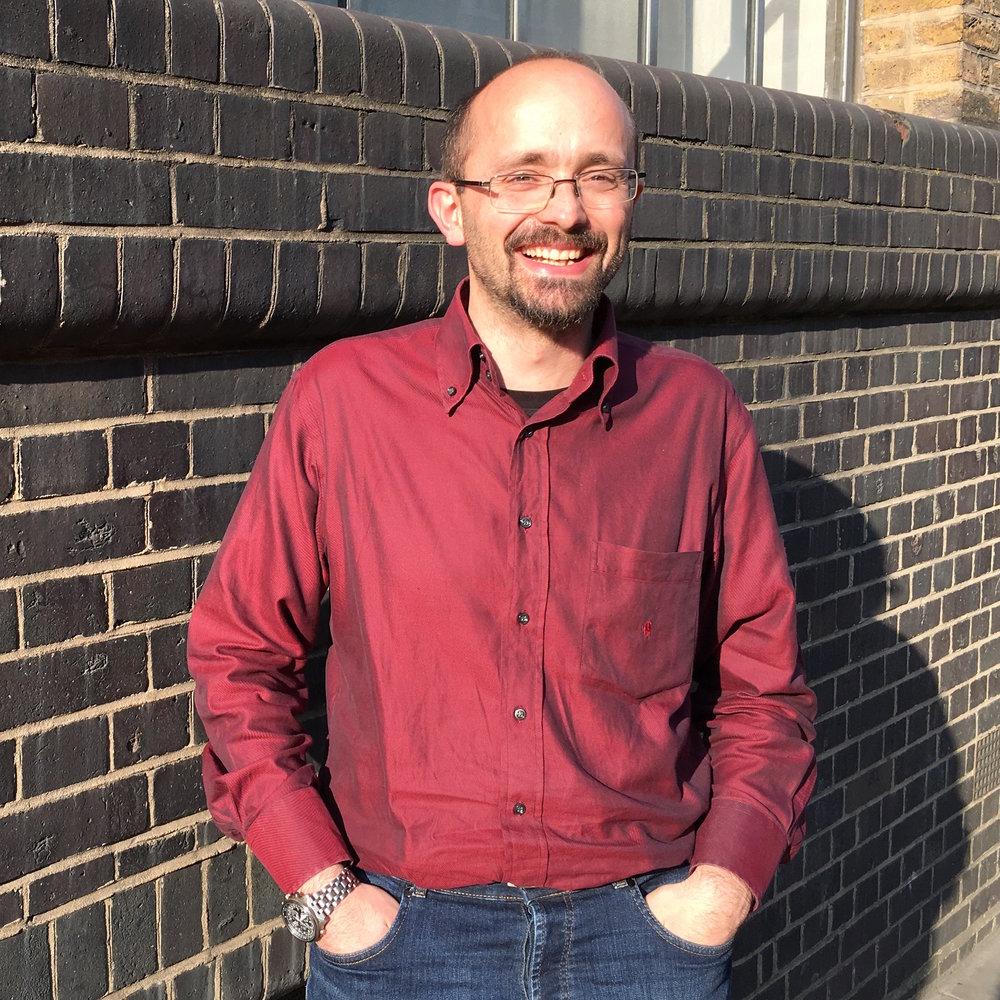 Luigi Martiradonna. Image credit: Stuart Higgins