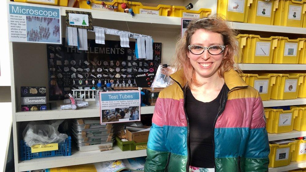 Carole Kenrick in Lab_13. Image credit: Stuart Higgins