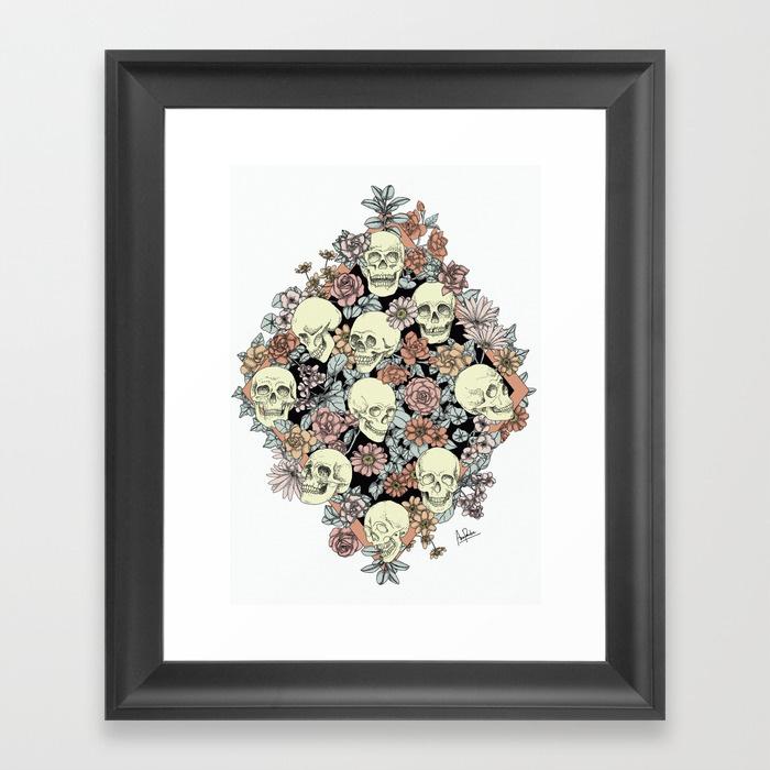 blooming-skulls-framed-prints.jpg