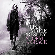 "Lisa Marie Presley ""Storm & Grace""Lisa Marie Presley ""Storm & Grace"" Writer of 'You Ain't Seen Nothin Yet', 'Close to the Edge' & 'Un-break'"