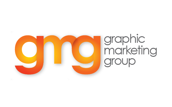 "Graphic marketing group is a marketing services group that will ""put ink on whatever."" This mark is a standout in their industry and is instantly recognizable among client and prospects."