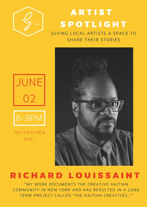 GCARTISTSPOTLIGHT-RICHARDLOUISSAINT-FLYER.jpg