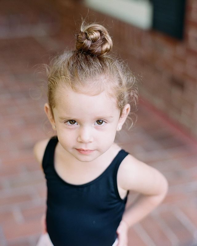 So much sass. #melaleighton #littleballerina