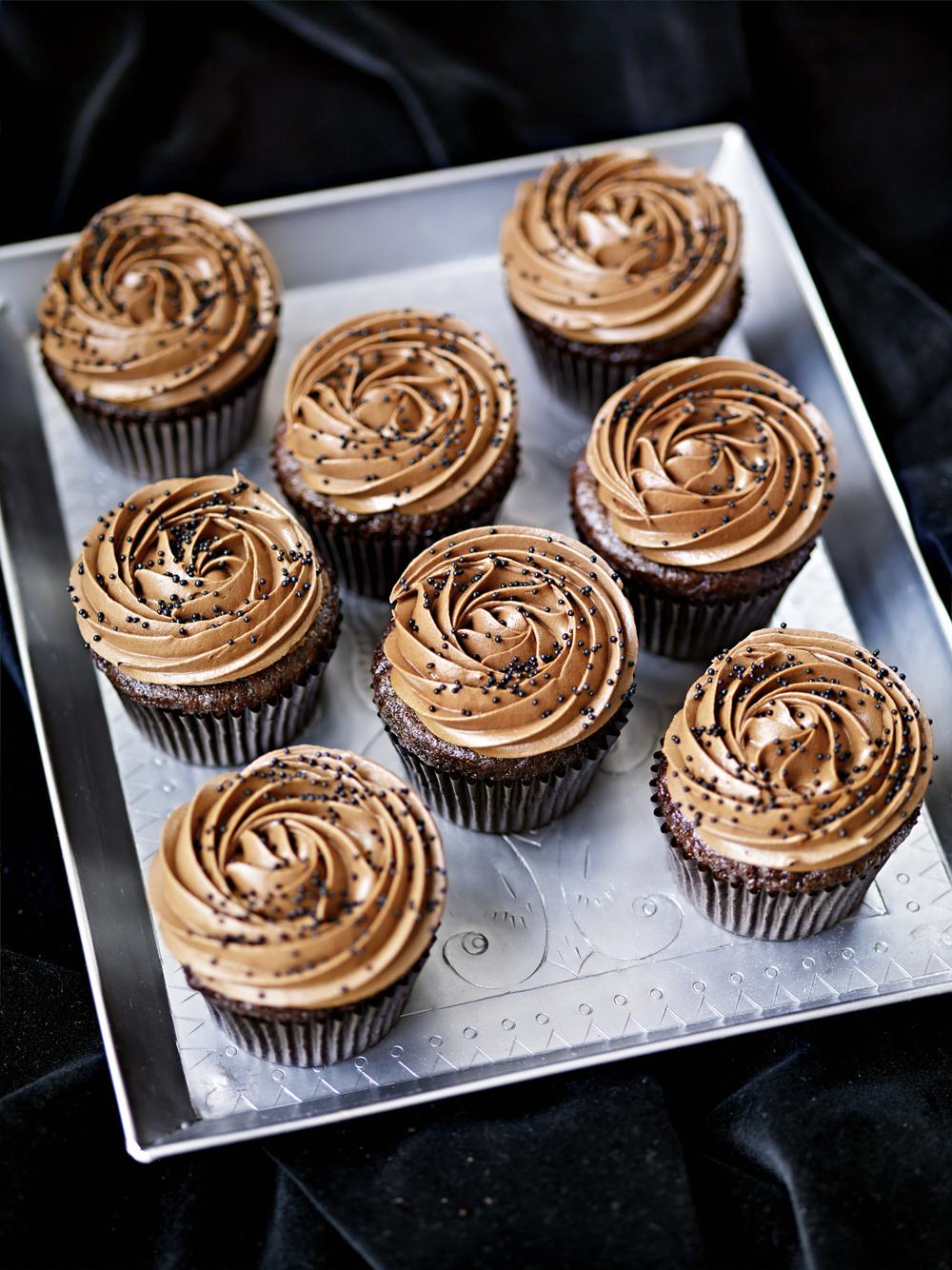 nutella cupcakes recept