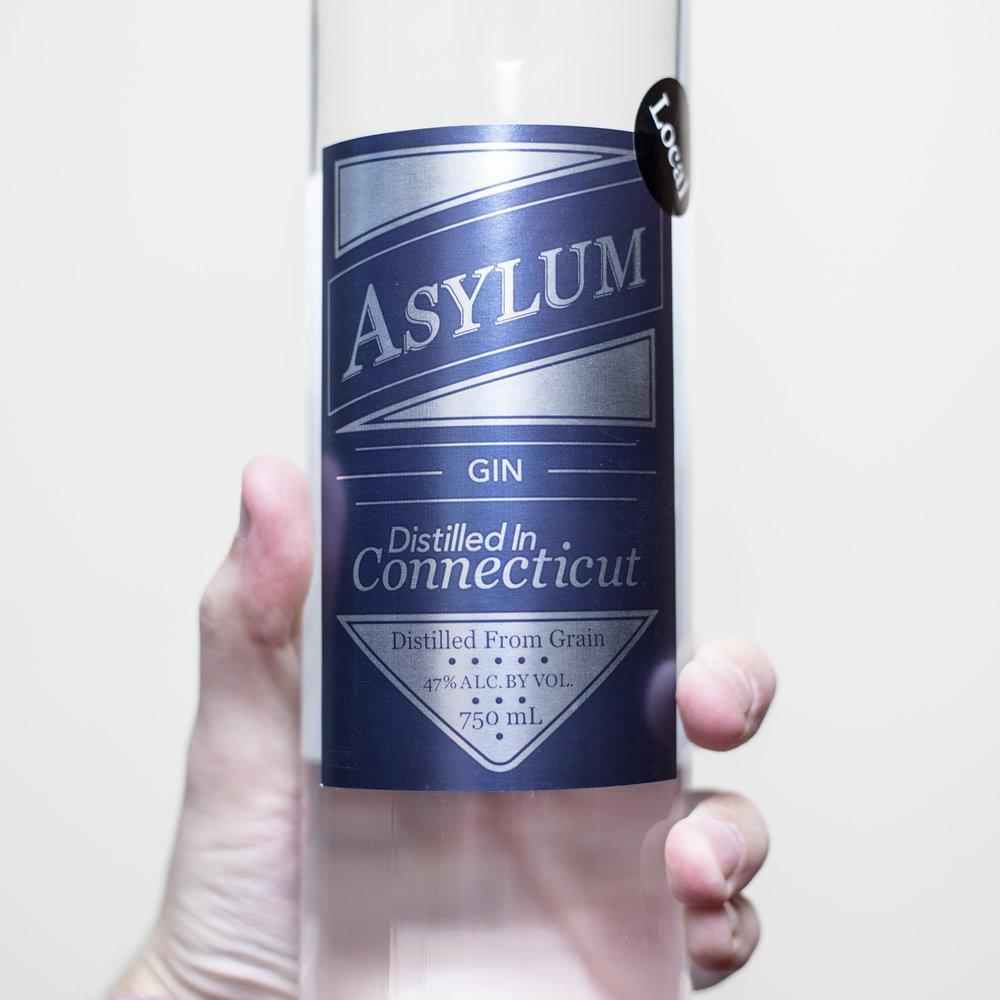 asylum gin