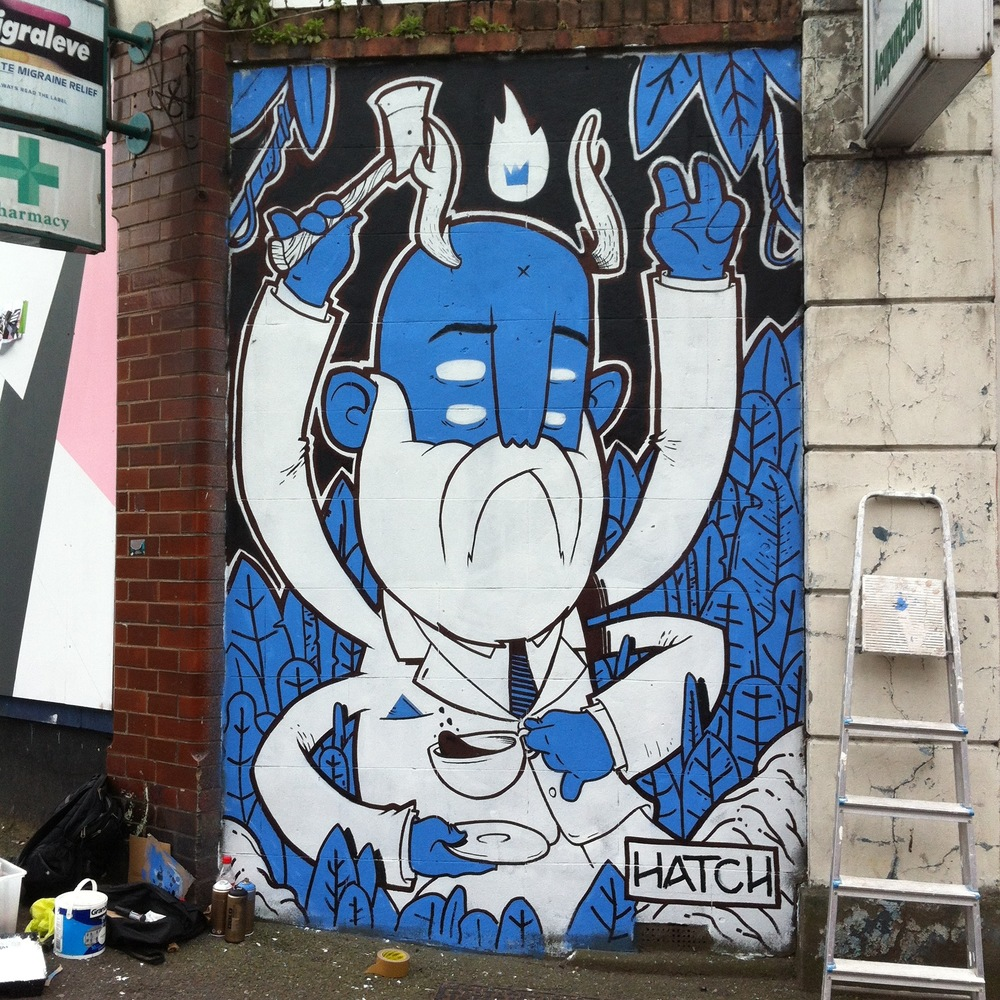 Chingford Road, E17, London. Big thanks to Wood Street Walls for hooking me up with the space