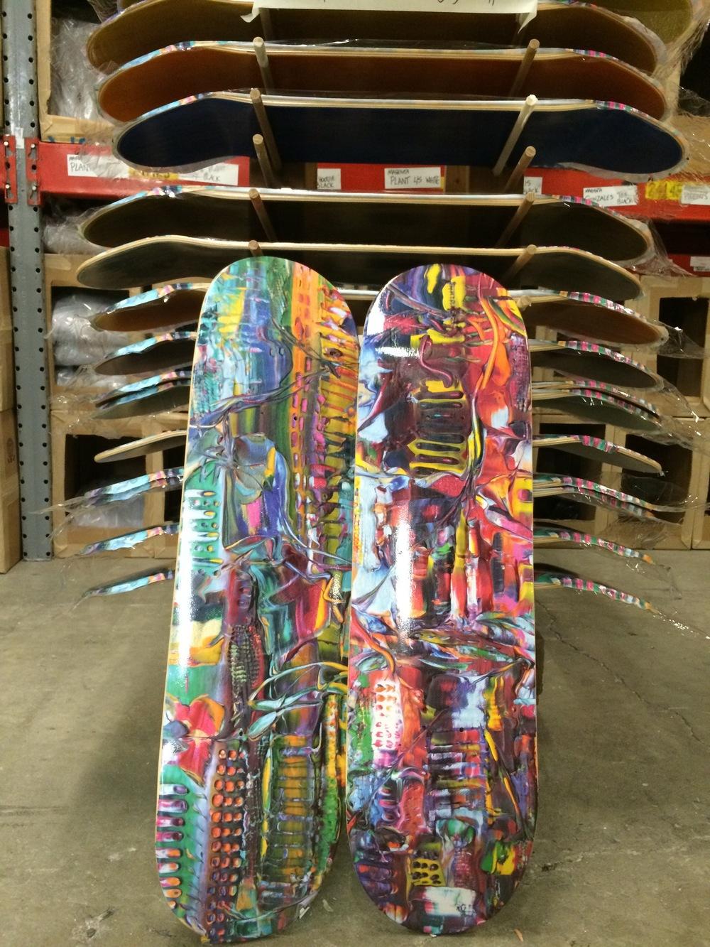 Fluid City Skate Decks