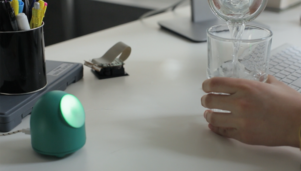 MOTI is a personable new smart object that helps you form better habits.   Learn More