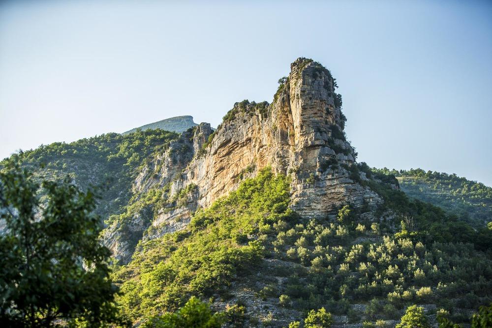 Paysages naturels de Provence