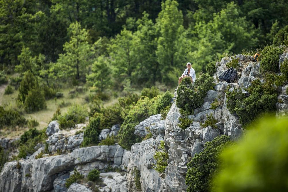Balade au coeur des montagnes provençales