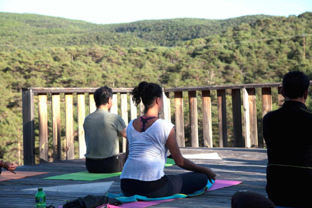 Séjour yoga et aquarelle