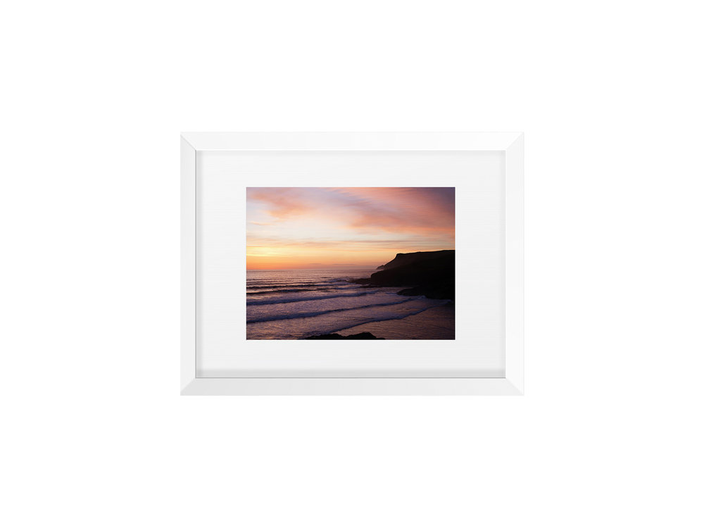 Lazy-Sunset-Polzeath-Beth-Druce-Framed.jpg