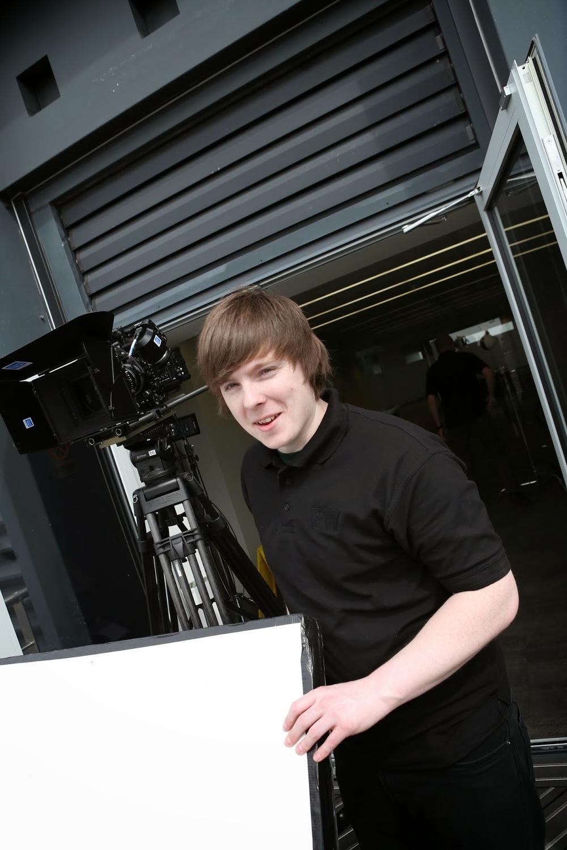 Camera assistant Joe