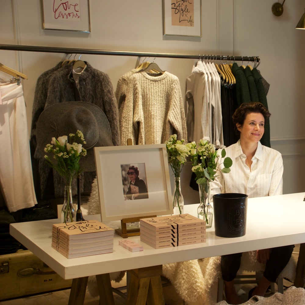 Garance Dore at Club Monaco