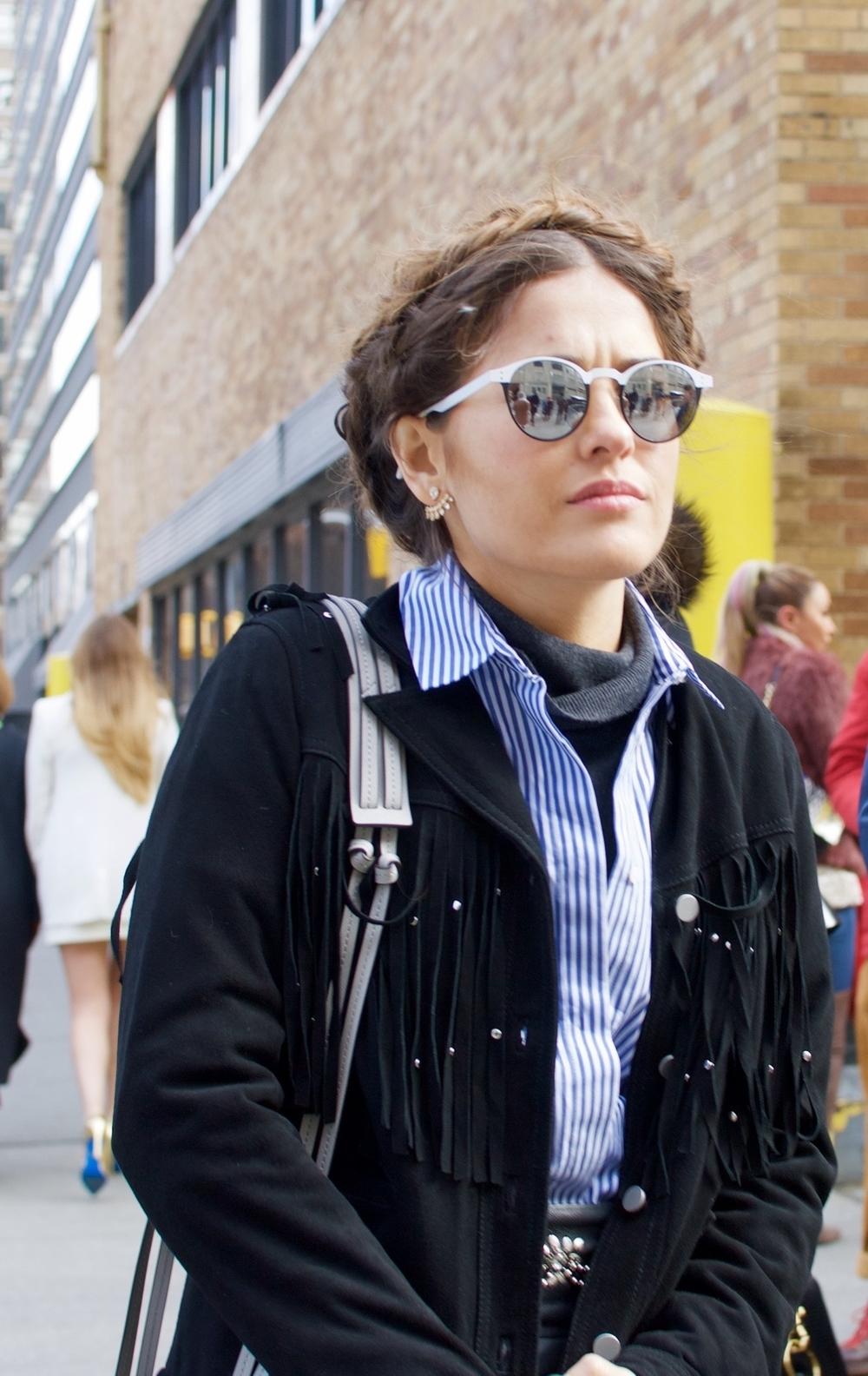 NYFW Street Style Recap: Hair Trends
