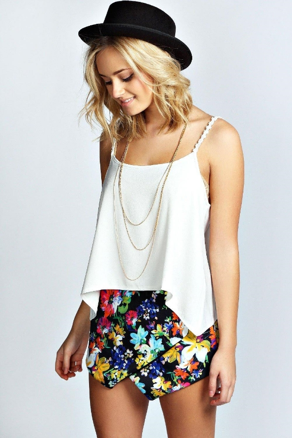 Bree Bold Floral Skirt