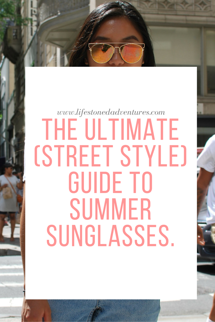 Street Wear Sunglasses