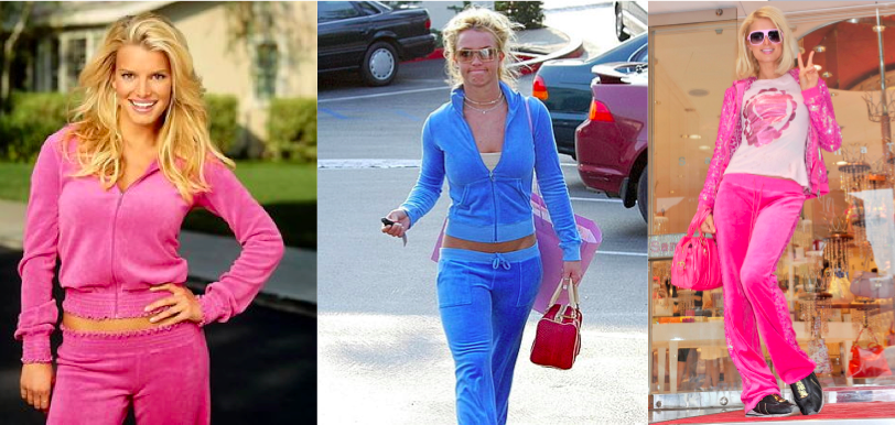 Early 2000s Fashion Trends Track Suits