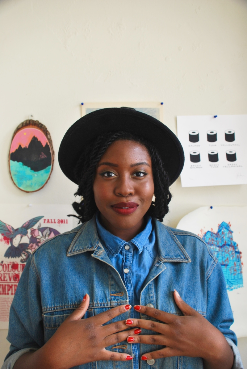 Philadelphia Style Blogger Sola Onitiri - Menswear Worn by Women