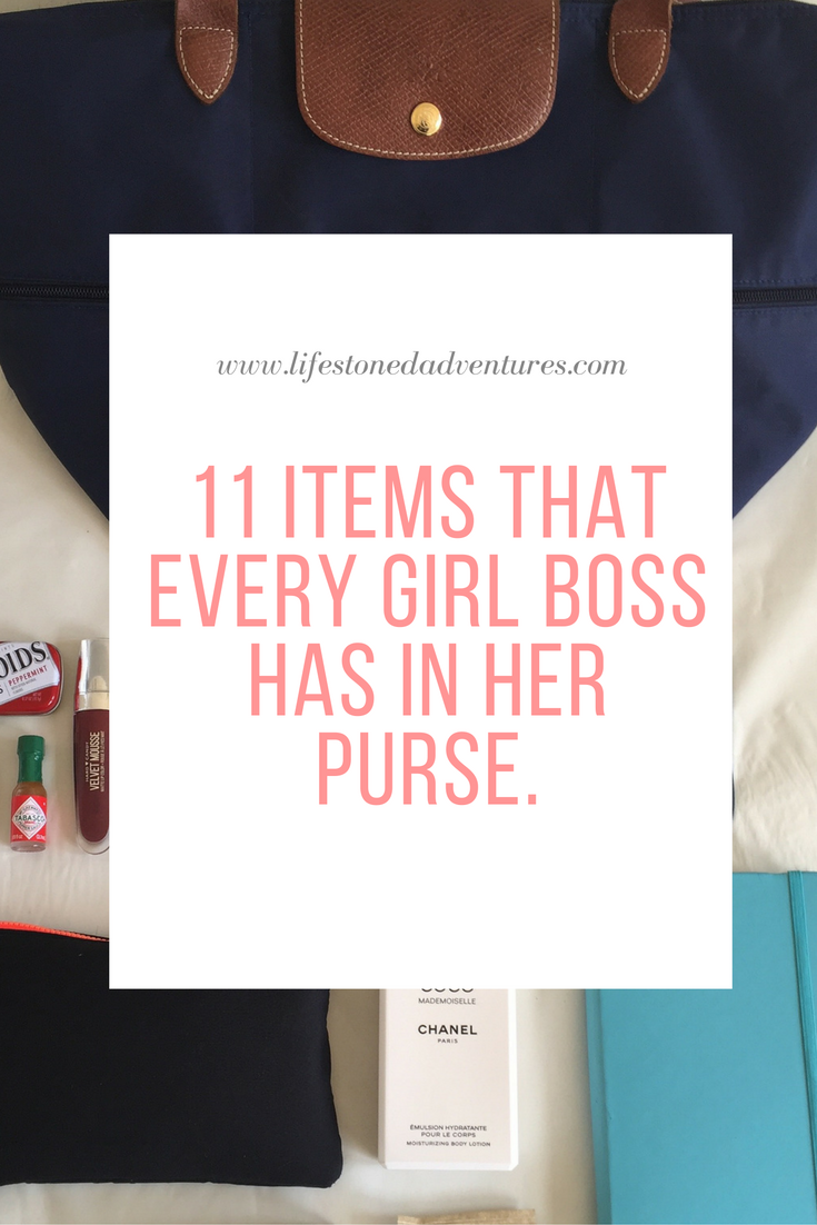 What Do Girl Bosses Have in There Purse?