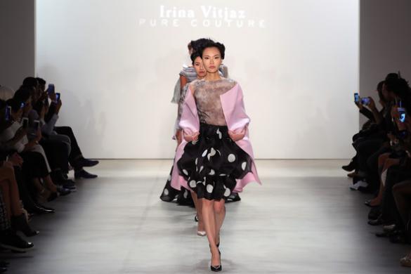 Irina Vitjaz at NYFW