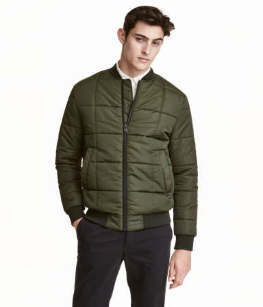 Look in both sections for this H&M Bomber Jacket.