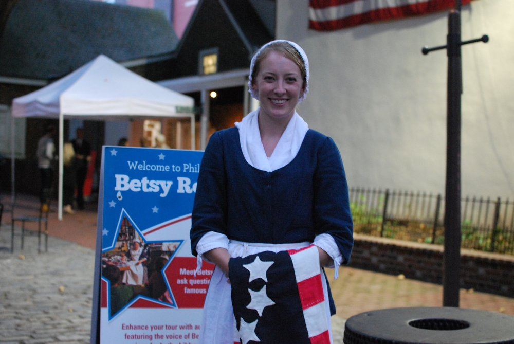 The Betsy Ross House at Old City Fest 2016