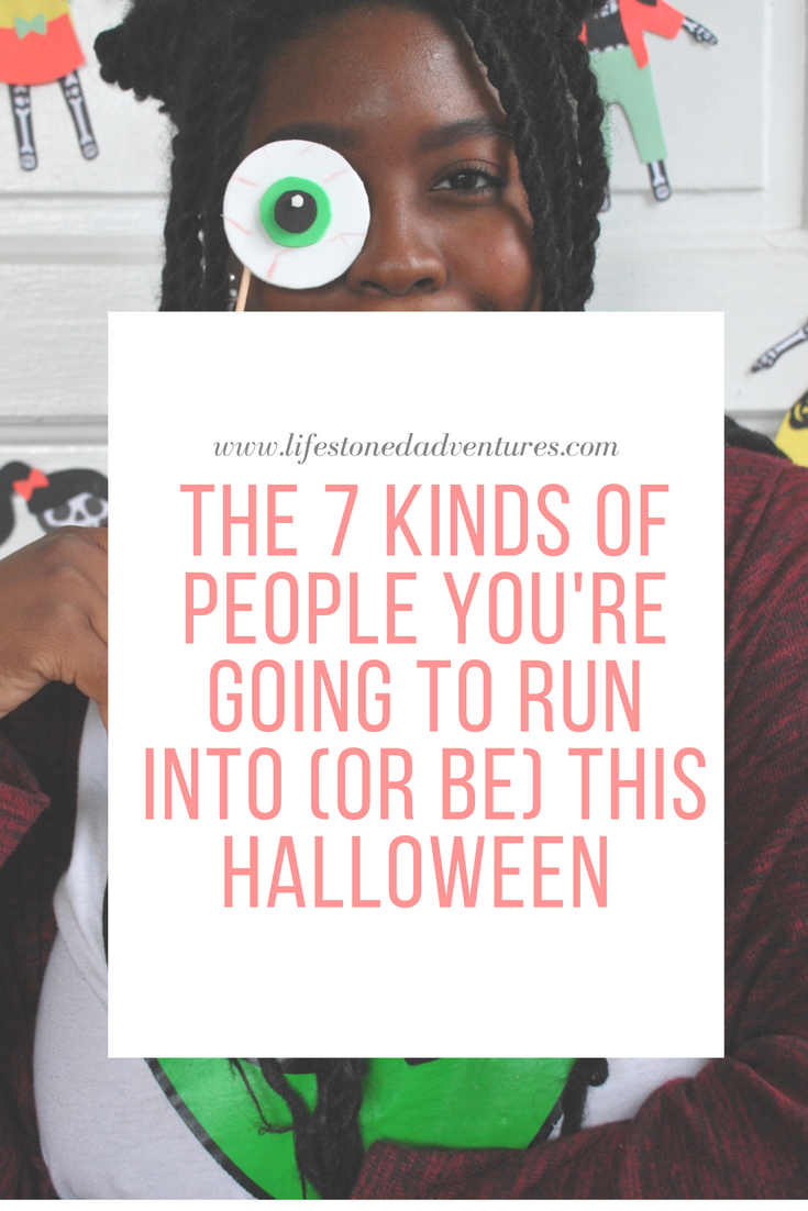 Halloweekend Is Upon Us - Here are the people you will run into
