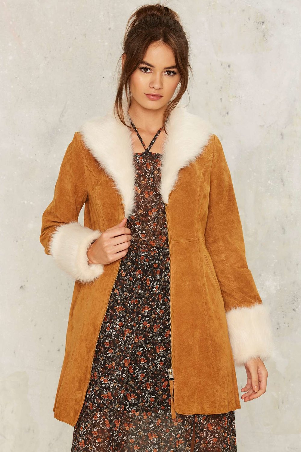 Photo (and Coat) by Nasty Gal