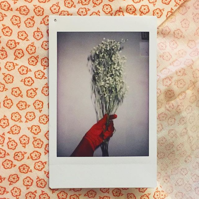 Caught red handed - More Polaroid work coming soon.