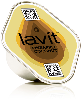 COCONUT PINEAPPLE juicy, ripe pineapple and creamy toasted coconut notes