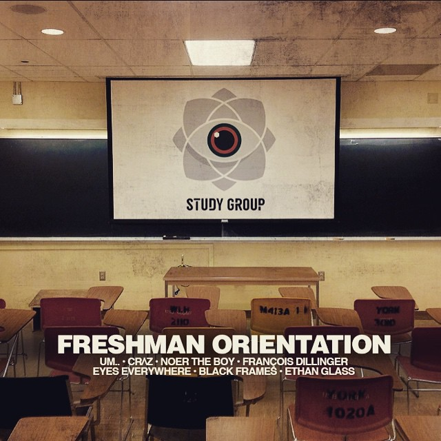 Welcome to our Freshman Orientation!  Study Group was created with the understanding that at its core, a study group is a collective of individuals coming together to pool knowledge and increase everyone's ability to learn. Education and the spreading of ideas are core tenets of Study Group.  Not only will Study Group throw regular events, but we will also host music business, music production, and DJ workshop events before live events to help foster the spread of musical knowledge.  We strive to inspire as many people as possible to push themselves and discover that the boundaries they thought existed for themselves in this world are only in their mind.  Find out more about us as www.thatstudygroup.com  #StudyGroup #FreshmanOrientation #MusicEducation #Brooklyn #ThatStudyGroup #Workshops #DJ