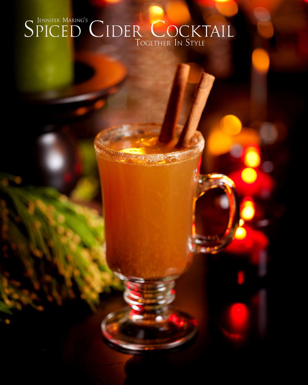 Spiced Cider Cocktail Recipe