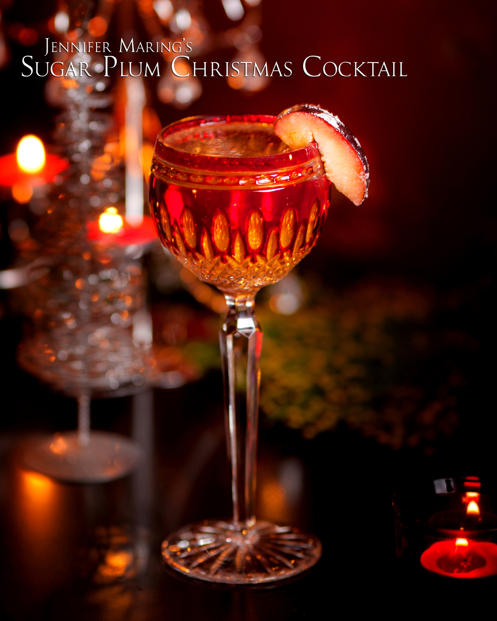 Sugar Plum Christmas Cocktail Recipe