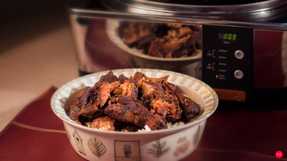 Jennifer Maring's Island Spice Country Style Ribs recipe cooked in a crock Pot Slow Cooker