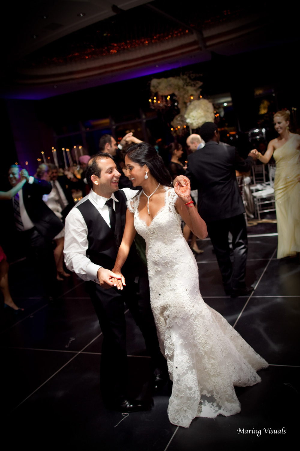 Wedding at the Mandarin Oriental Hotel NYC
