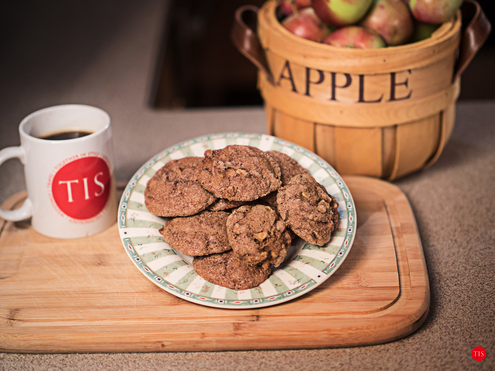 Apple Molasses Cookies by Jennifer Maring
