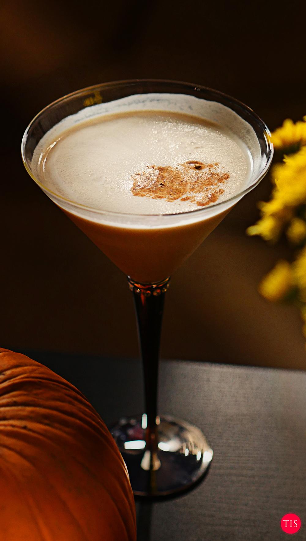 Pumpkin Pie Espresso Martini