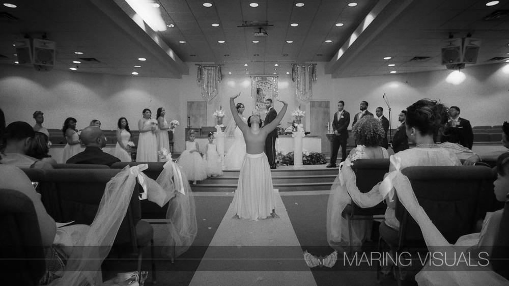 Wedding Ceremony in Infrared