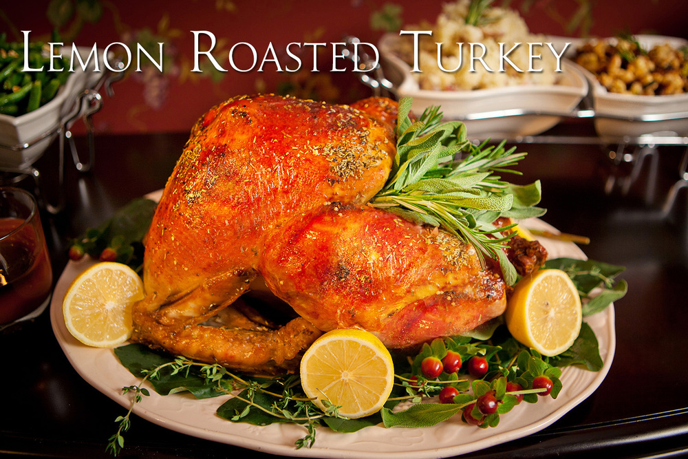Jennifer Maring's Lemon Roasted Turkey Recipe